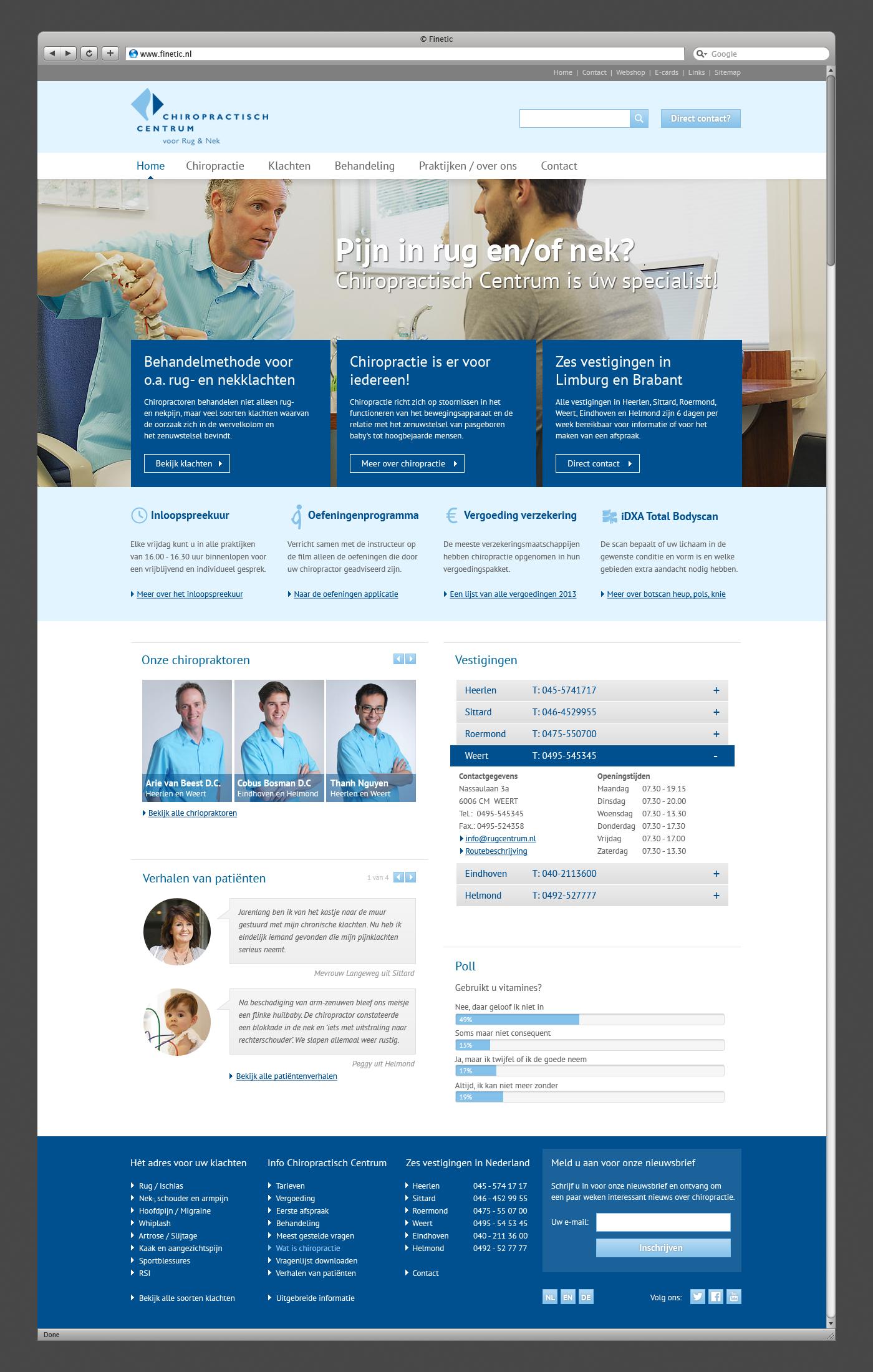 chiropractie-vanbeest-homepage