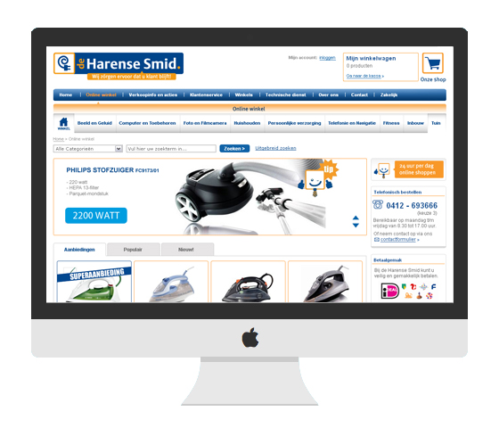 de harense smid e-commerce