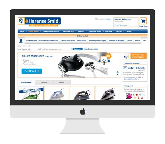 de harense smid e-commerce