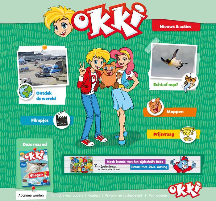 Webdesign Okki - Blink